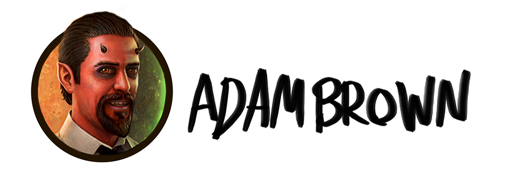 Adam Brown Art Logo